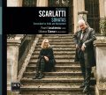 SCARLATTI • SONATAS TRANSCRIBED FOR VIOLIN AND HARPSICHORD •  ŁOSAKIEWICZ, STAWARZ